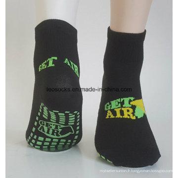 Chaussettes de yoga chaussettes antidérapantes