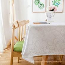 Polyester Damast wasserdichte Tischdecken