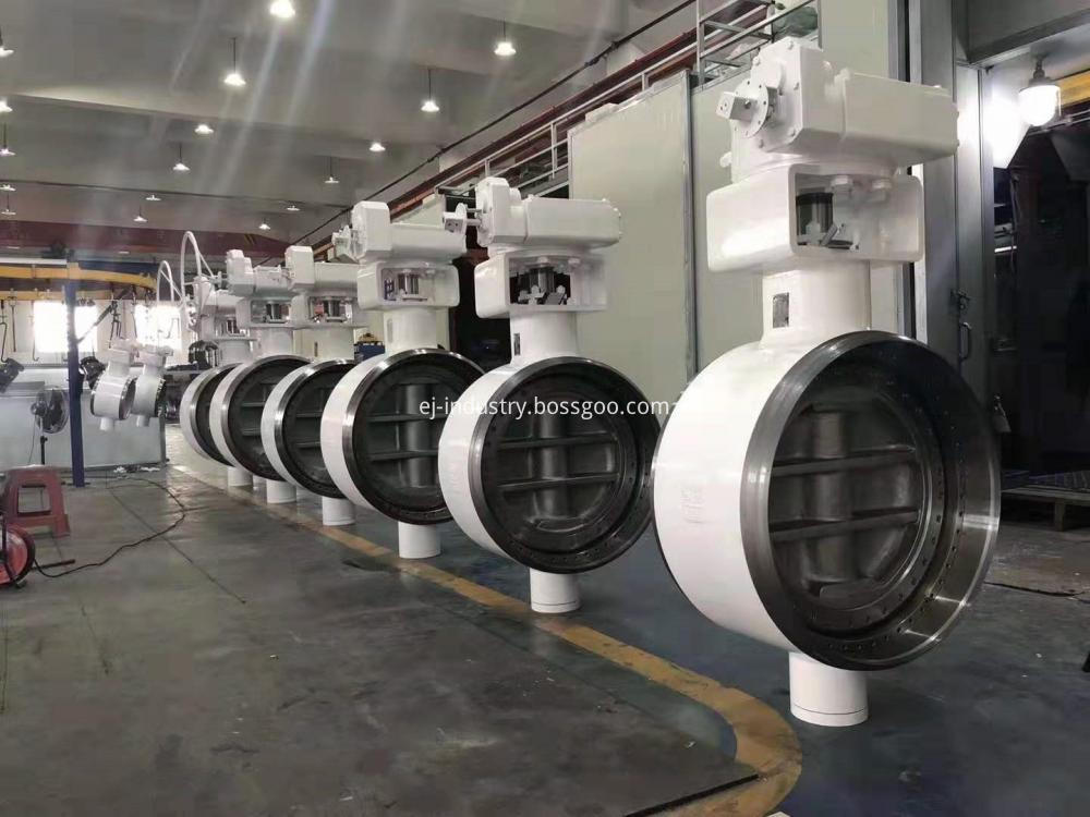 Metal Seat Butterfly Valves