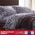 133*72 Printed Black White Sheet for Hotel/Home Use