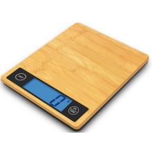 Bamboo Kitchen Scale with Backlight