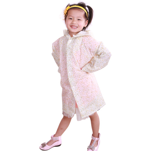 children eva Raincoat full printing