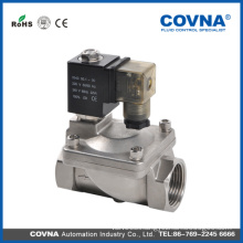 2 inch pilot operated stainless steel electric solenoid water valve