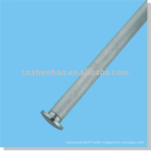 curtain accessories-metal curtain end cap (small size) for round bottom rail of roller blind-window covering component