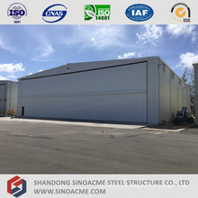 Pre Engineering Steel Structure Aircraft Hangar