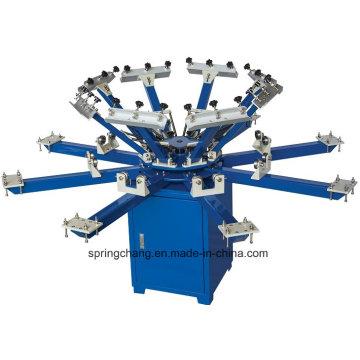 Imprimante manuelle 8 d'écran de carrousel de la station 8 de la couleur 8 Spm850