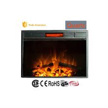"""33 """"insert imitation feu feu de bois chauffe-eau"""