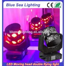 Nouveau 4N1 RGBW 16pcs 15w lumière de faisceau LED / lumière de scène à faisceau