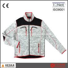 Ropa de manga larga chaqueta de lana para hombre