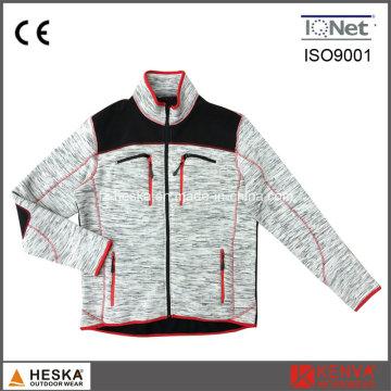 Длинный рукав Одежда мужская куртка флис