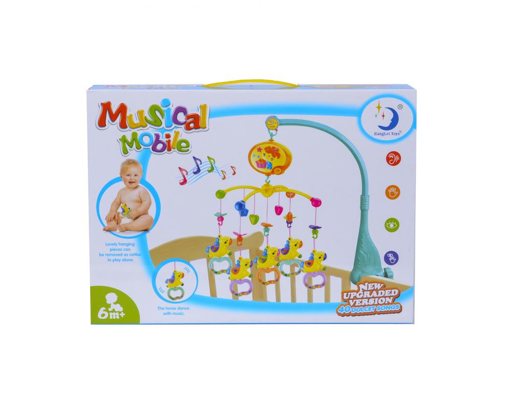 Colorful Music Baby Bed Bell