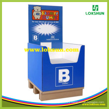 Cardboard Dump Bin Display Stand Candy Box Gift Box Paper Display