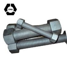 Болт шпильки / резьбовые штоки ASTM A193-B7 с шестигранной гайкой A194 2h