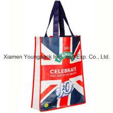 Laminado Non-Woven Pequena Promocional Giveaway Advertising Tote Bag
