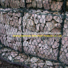 Powder coated gabion box with high quality and competitive price in store