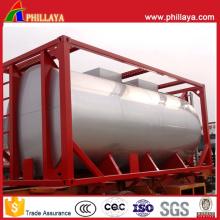 Récipient de réservoir de carburant d'huile de stockage d'ISO d'acier au carbone de 20FT 40FT