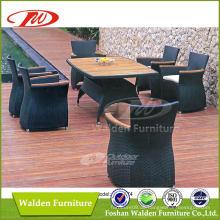 Garten Rattan Ess-Set, Esstisch Stuhl Set (DH-6174)