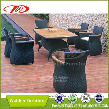 Garden Rattan Dining Set, Dining Table Chair Set (DH-6174)