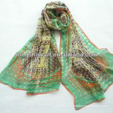 SD319-123 дизайнер моды шелковый шарф