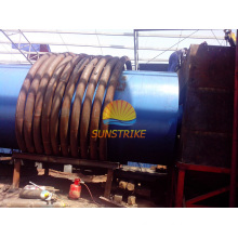 Hot Sale in Phillipine Continuous Sawdust Carbonization Furnace