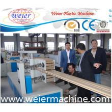 Machine d'extrusion de cadres de portes et fenêtres WPC (PVC + WOOD)