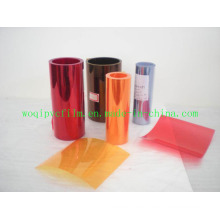 Rango de plástico rígido de PVC Rellenado Grado y grado de la caja
