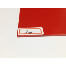 Red G10 Sheet for Knife Handle Makers