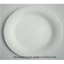 Plaque à papier jetable Fête Gâteau d'anniversaire Assiette à papier Plats Aux fruits Confirmer Essayer