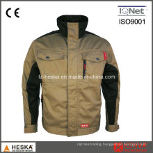 Men Wear-Resisting Polycotton Work Jacket