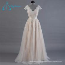 2017 Кружева Аппликации Пояса Вечернее Платье Для Свадебных Случаев