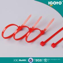 Lazos de cable negros de alta temperatura de la longitud de Igoto 300m m