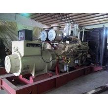 50Hz 800kVA/640kw Open Jichai Engine Diesel Generator Set