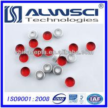 лучшая цена 11мм птфэ силиконовые перегородки с алюминиевой обжимной крышкой предварительная сборка
