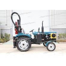 Nigeria Kenia 150m taladro de pozo de agua montado en tractor