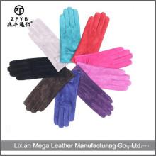 Bonne qualité Nouveaux gants en cuir de suède en cochon usine de gants en cuir porc