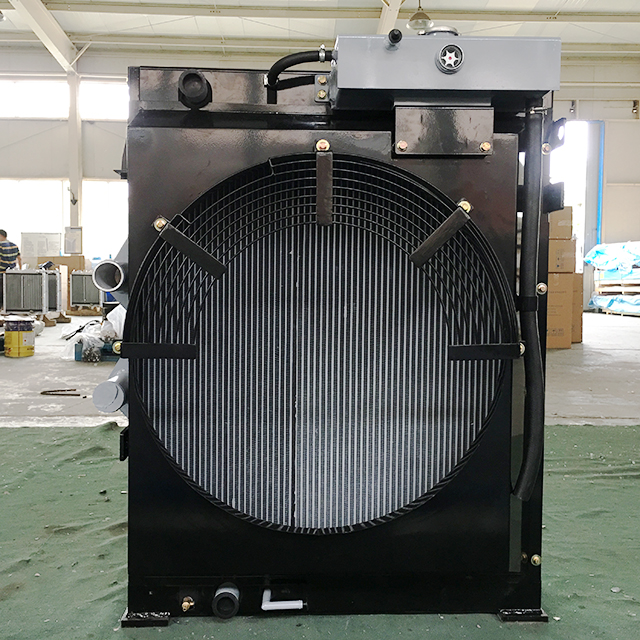 Combined Oil Cooler