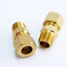 Brass fittings brake lines