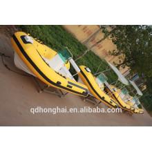 RIB470 катер с ce надувные лодки с жестким полом
