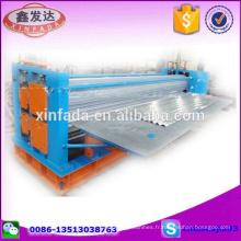 Machine à formage de rouleaux de feuille de toit en profilés ondulés / Machine à former des rouleaux de feuilles d'acier