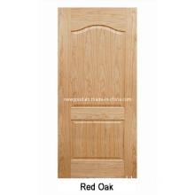(Red Oak) Veneered HDF Moulded Doors, Composite HDF Doors