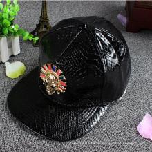 Кожаный Ремешок Вышивки Snapback Шляпу