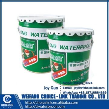 for construction double component PU waterproofing coating