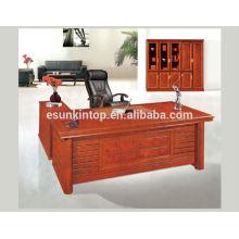 Meubles en mobilier de bureau élégants, Tapisserie d'ameublement de couleur douce et douce, Dessus de panneau dur (T323)