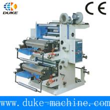Machine d'impression Flexo haute qualité de deux couleurs de qualité supérieure pour l'utilisation du film en plastique (série YT)