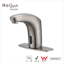 Haijun Cheap Prices 0.1~1.6MPa Brass Body Water Sink Infrared Automatic Sensor Faucet