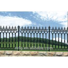 Clôture de jardin / clôture en fer élégante et de haute qualité