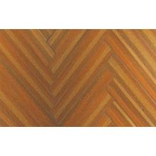 12.3mm E0 HDF AC4 en relieve teca encerado piso laminado filo