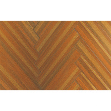 12.3mm E0 HDF AC4 Embossed Teak Waxed Edged Laminated Floor