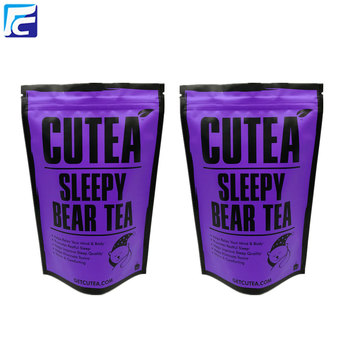 Reusable aluminum foil tea custom printing coffee bag