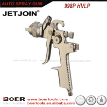 high performing Car Painting HVLP Spray Gun plated nickel